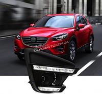 DRL штатные дневные ходовые огни LED- DRL для Mazda Cx-5 2012+ (ДХО Мазда  CX-5 , DRL Mazda Cx-5) DRL штатные дневные ходовые огни LED- DRL для Mazda