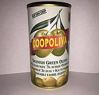 Зеленые оливки с косточкой Coopoliva