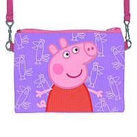 Детская сумочка для девочки с принтом Свинка Пеппа