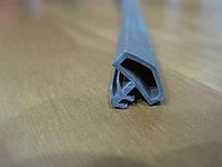 Уплотнитель для деревянных дверей Домик коричневый
