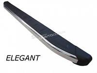 Пороги боковые Elegant для Peugeot Partner 1999-2008