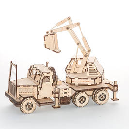 Деревянные 3D пазлы-конструкторы