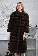 """Шуба из баргузинского соболя """"Мистика"""" sable jacket fur coat , фото 1"""