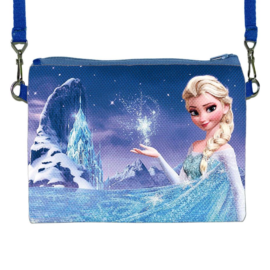 Детская сумочка для девочки с принтом Эльза