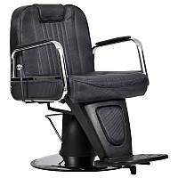 Мужское парикмахерское кресло Waszyngton Lux черное