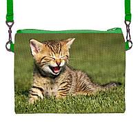 Детская сумочка для девочки с принтом Кошка