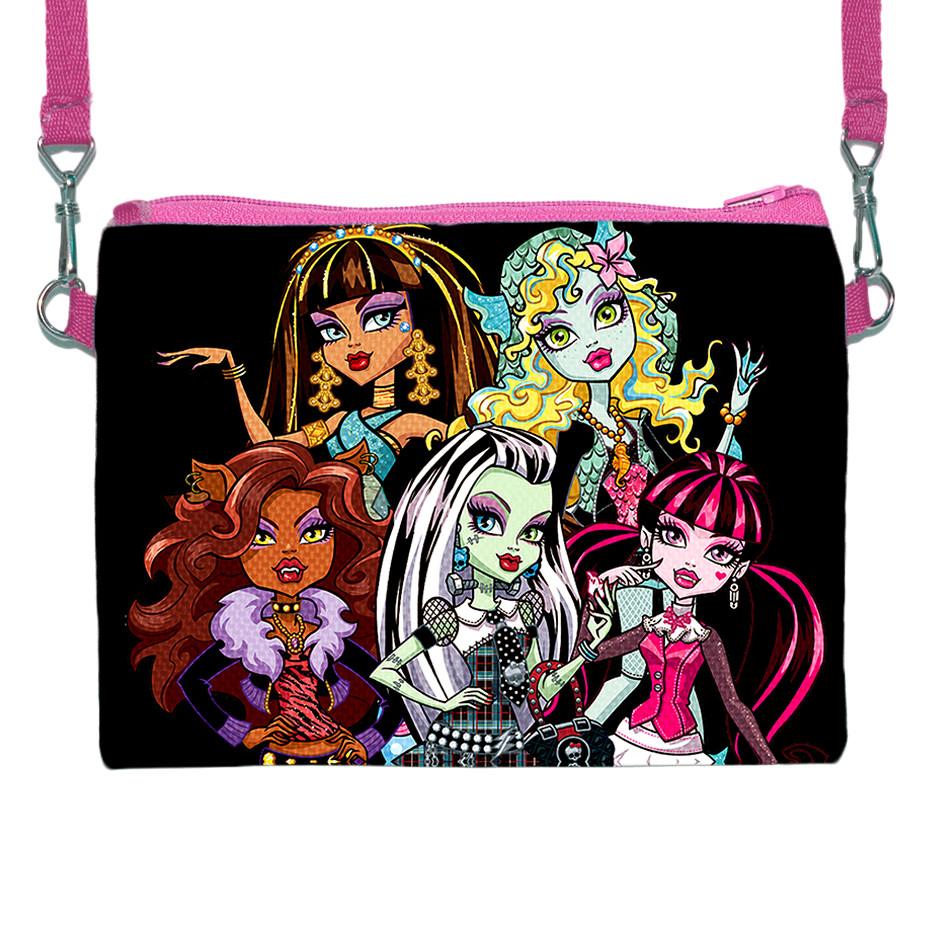 Детская сумочка для девочки с принтом Монстр Хай