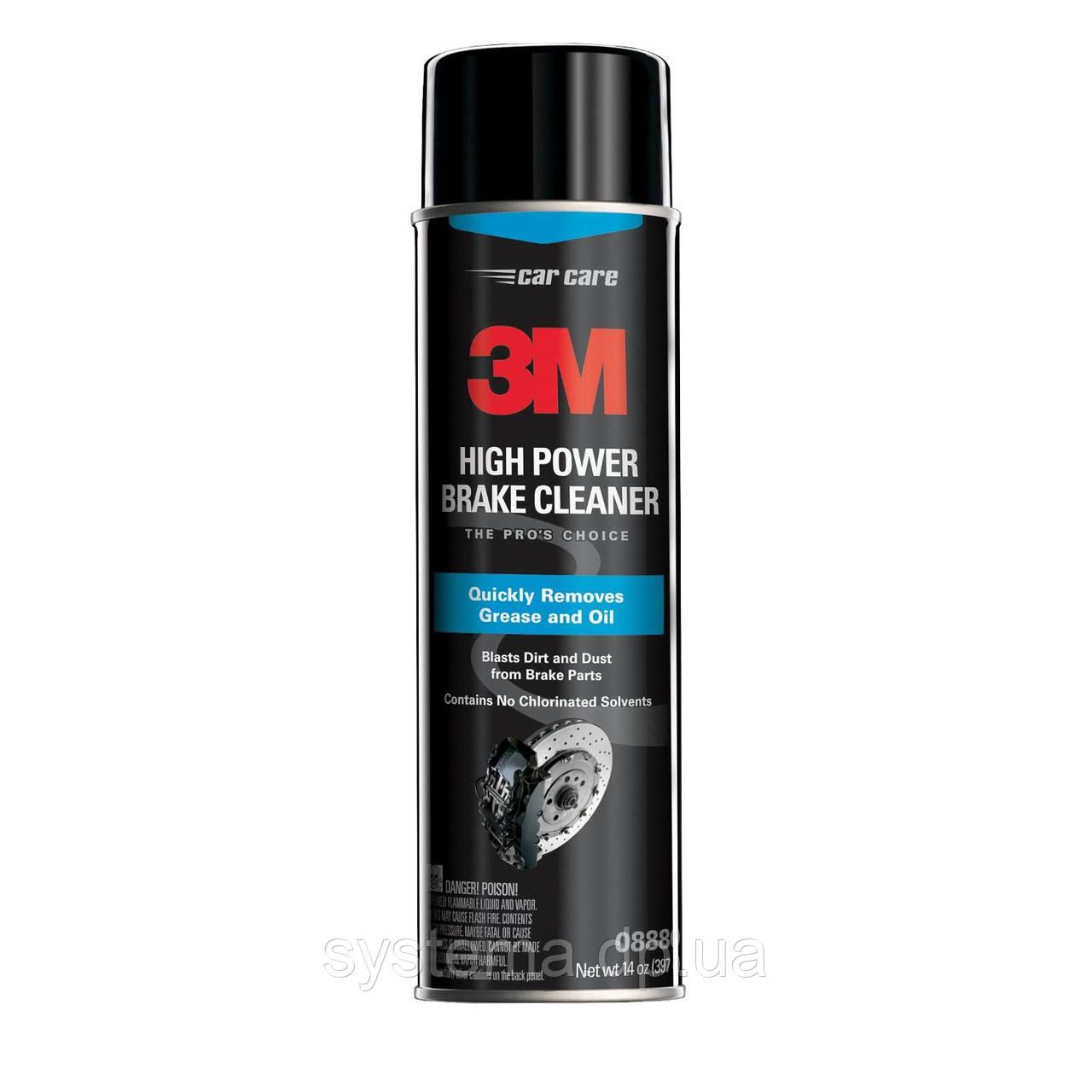 3M™ 08880 - Высокоэффективный очиститель тормозов, аэрозоль, 591 мл (397 гр.)