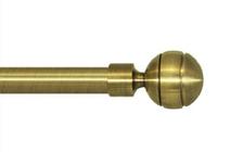 Декоративный наконечник Паола для кованого карниза 16 мм.