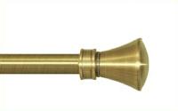 Декоративный наконечник Люксор для кованого карниза 16 мм.