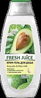 """Крем-гель для душа """"Fresh Juice"""" 400 мл авокадо"""