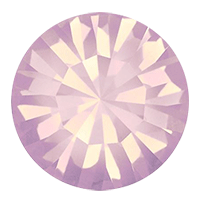 Пришивные стразы в цапах Preciosa (Чехия) Rose Opal/серебро