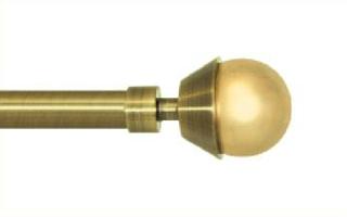 Декоративный наконечник Мельба для кованого карниза 16 мм.