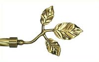 Декоративный наконечник Тоскана для кованого карниза 16 мм.