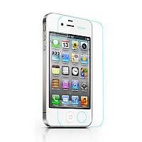 Защитное закаленное стекло для iPhone 4, 4s (бронестекло айфон)