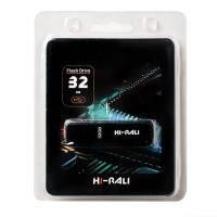 USB-флеш накопитель Hi-Rali 32GB Vektor series Black