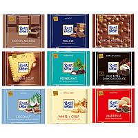 Шоколадки Ritter Sport в ассортименте