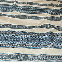 Ткань для вышиванок с украинским орнаментом Рандеву ТДК-110 1/2