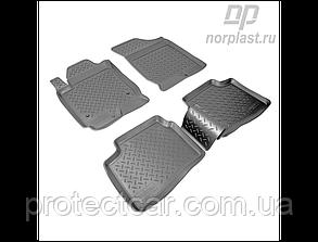 Ковры салонные для Hyundai i30 (FD) (2007-2012) черные