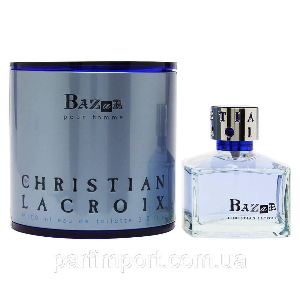 Christian Lacroix Bazar Homme  EDT 100 ml туалетная вода мужская (оригинал подлинник  Франция)