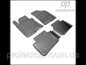 Ковры салонные для Hyundai i30 (GDH) (с 2012)  черные