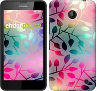 "Чехол на Nokia Lumia 630 Листья ""2235u-365"""