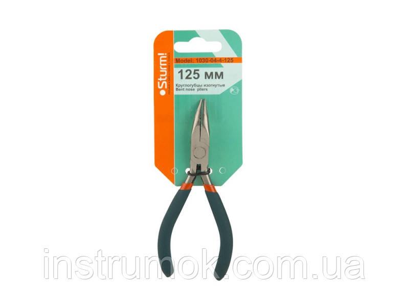 Круглогубцы изогнутые 125 мм (Soft hand mini) Sturm 1030-04-4-125