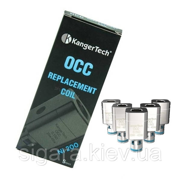 Испаритель Kanger Subtank OCC Ni-200 0,15 Ом