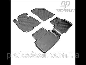 Ковры салонные для Hyundai ix35 (EL) (с 2010) черные