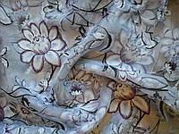 Тюль принт фиолетовый цветок, фото 1