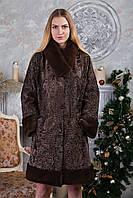 "Шуба из каракульчи ""Милисента"" swakara broadtail jacket fur coat , фото 1"