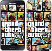 "Чехол на Samsung Galaxy E5 E500H GTA 5. Collage ""630c-82"""