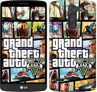 "Чехол на LG G3 Stylus D690 GTA 5. Collage ""630c-89"""