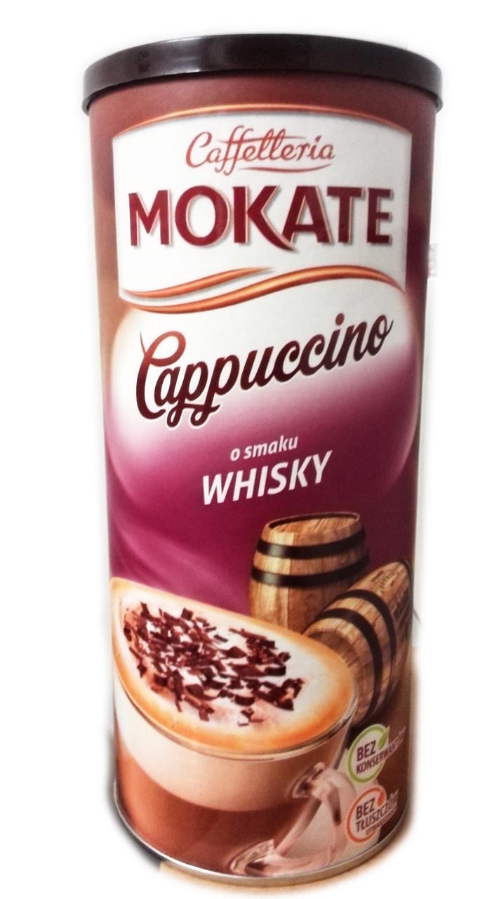 Капучино со вкусом виски Mokate Cappuccino o Smaku Whisky, 160 гр.