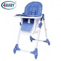4 Baby стул для кормления Decco (Blue)
