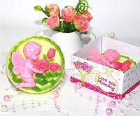 """""""Любимой мамочке"""" натуральное подарочное мыло ручной работы"""