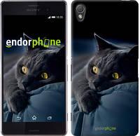 "Чехол на Sony Xperia Z3 D6603 Дымчатый кот ""825c-58"""