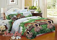 """Двуспальный комплект постельного белья  """"Барс""""."""