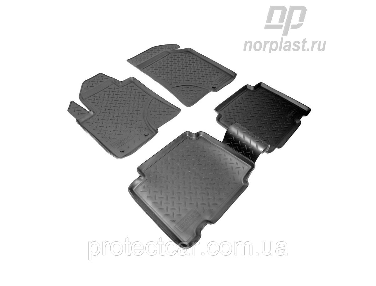 Килими салонні для Hyundai ix55 (EN) (з 2008) чорні