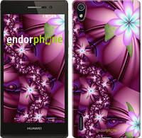 """Чехол на Huawei Ascend P7 Цветочная мозаика """"1961c-49"""""""