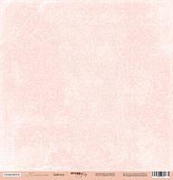 Лист односторонней бумаги 30x30 от Scrapmir Розовый узор из коллекции Нежность