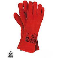 Защитные перчатки (Краги) REIS красные