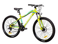 "Велосипед 26"" Optimabikes ALPINA AM 14G DD Al зеленo-белый  (м) 2016"