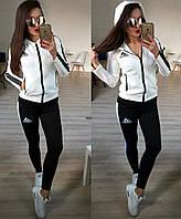 Стильный женский спортивный костюм Адидас