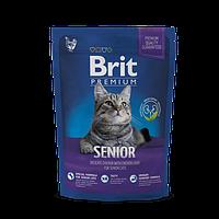 Brit Premium Cat Senior для пожилых кошек 8кг