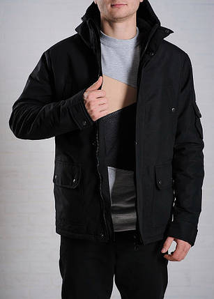 Демисезонная куртка Feel&Fly Classic Black, фото 2