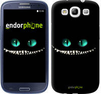 "Чехол на Samsung Galaxy S3 Duos I9300i Чеширский кот ""689c-50"""