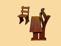 Лавочка  деревянная Бук,Дуб Закарпатье