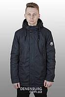 Куртка мужская демисезонная INDACO ITC-17360 тёмно-синий, фото 1