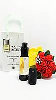 Парфюм – спрей в подарочной упаковке Egoiste Platinum Chanel   -  35мл